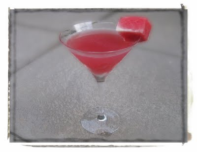 The Watermelon Martini