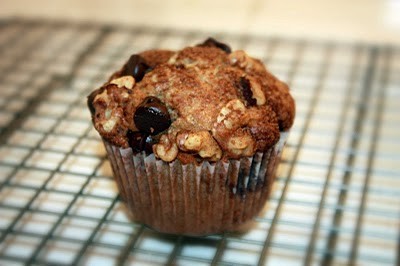 Banana Coffee Cake Chocolate Chip Cinnamon Streusel Muffins