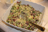 Baked Salmon with Thyme and Cranberries