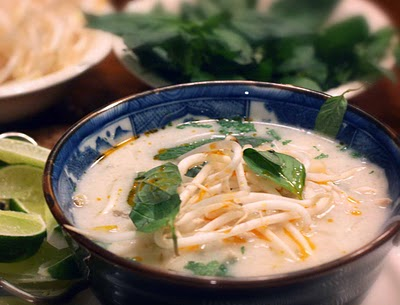 Vietnamese Spicy Chicken Noodle Soup