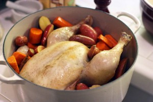 Roast Chicken for Les Paresseux