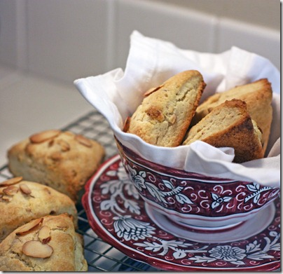 Toasted Almond Scones6