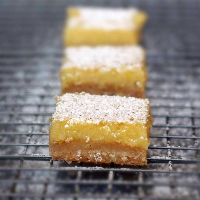 A Real Man's Lemon Bar