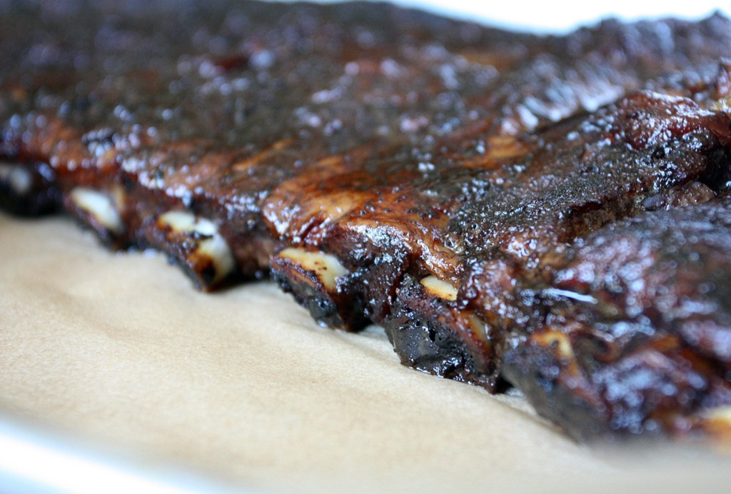 Cola and Jam Spare Ribs