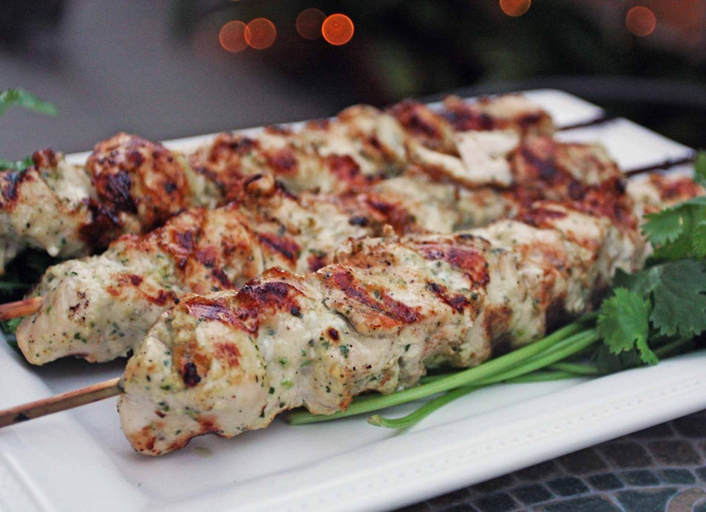 chicken kabob marinade yogurt