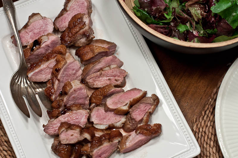 Twenty Minute Honey-Glazed Duck Breasts