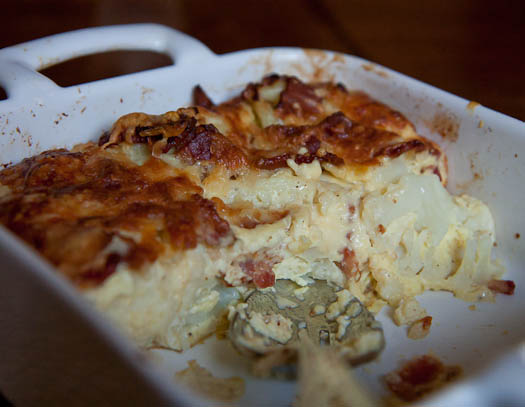 ... cauliflower bacon cauliflower bacon gratin cauliflower bacon gratin