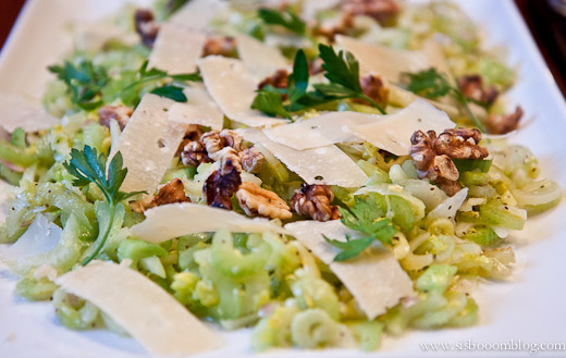 Celery and Parmesan Salad - Sis. Boom. Blog!