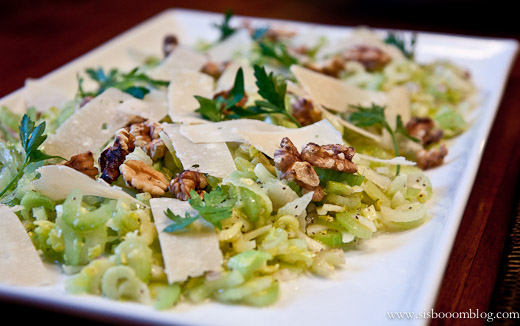 salad spicy warm silken tofu with celery and cilantro salad parmesan ...