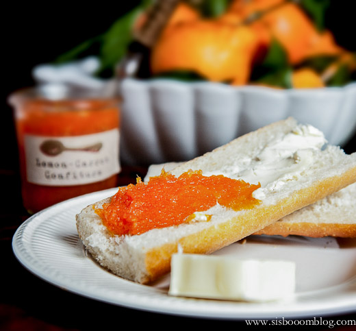 Lemon Carrot Confiture