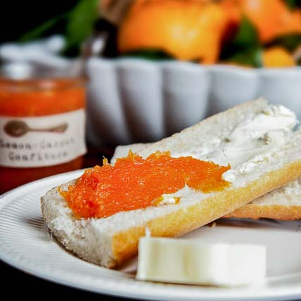 Lemony Carrot Confiture