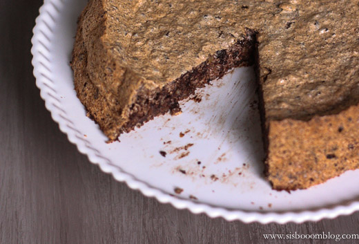 Chocolate-Almond Tweed Torte