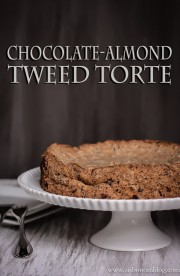 Chocolate Almond Tweed Torte-1-2
