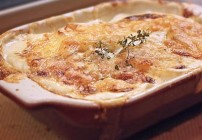 Giving Thanks for Potato Gratin