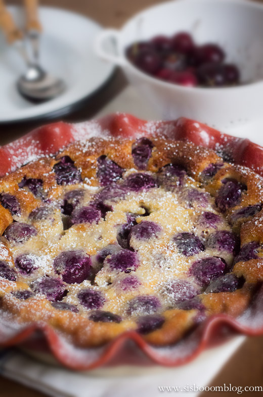 Whole Cherry Clafoutis
