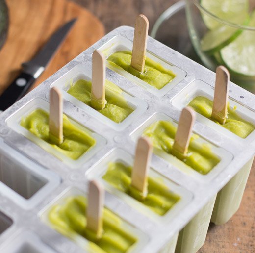 Avocado Pops - with 'heat' to beat the heat! - Sis. Boom. Blog!