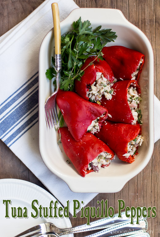 Tuna Stuffed Piquillo Peppers-