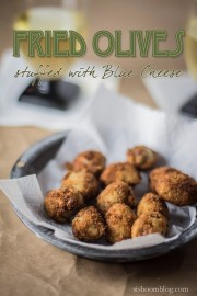 Fried Olives Stuffed with Blue Cheese--3