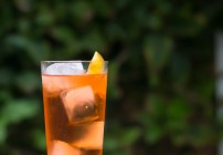 Aperol Tequila Swizzle Cocktail
