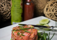 Salmon Tartare. <br> Because Things Change.
