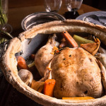 Chicken in a Pot – <br>the Garlic and Lemon Version