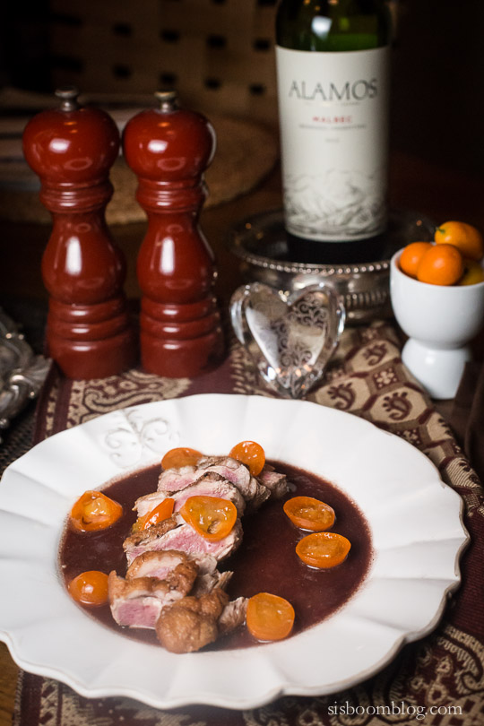 duck with kumquats dorie greenspan-1